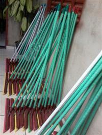 Rodos de madeira Reforçados