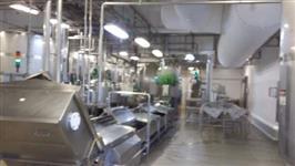 Montagens industriais em aço inox