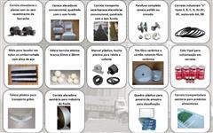 Canecas / Caçamba plástica elevador ração e grãos (milho, café, soja)