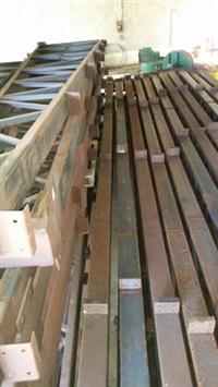 Estrutura em aço para barracão