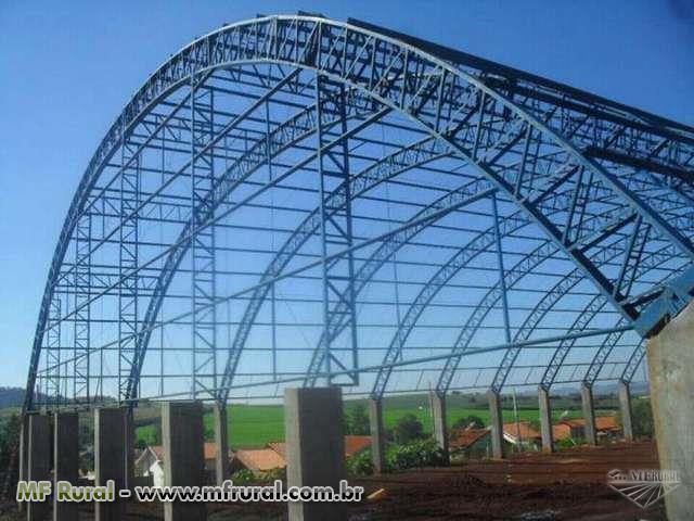 Fabricação e montagem de estrutura metalica