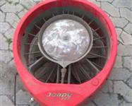 ventilador com nevoa de agua