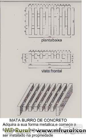 FORMAS METALICAS PARA COCHOS DE CONCRETO