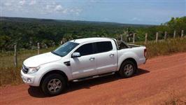 Ford Ranger Modelo 2014 Branca 3.2 XLT Diesel 4x4 Automática e Banco de Couro