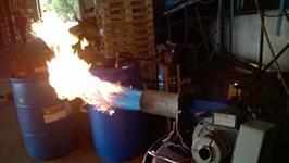 Manutenção de Queimadores Utilizados em Fornos de Beneficiamento de Citros