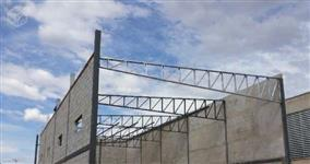 galpão- terraço- grade de proteção