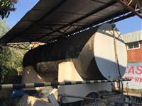 Tanque reservatório de óleo 15.600 litros