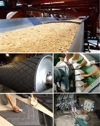 Manutenção de correias em borracha, pvc, pu, nylon