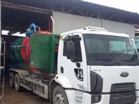 Fabricação de tanque vácuo hidrojato e agua