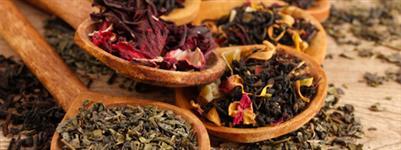 Chás e produtos funcionais