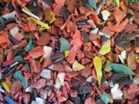 Plástico pp moído lavado