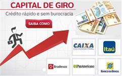 CAPITAL DE GIRO OU CREDITO RURAL TAXA 0,9% A.M
