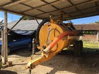 Tanque bananeiro distribuidor de Esterco liquido