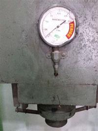 Prensa hidráulica manual de 150 ton com auxiliar de 15ton