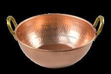 Tacho em cobre puro