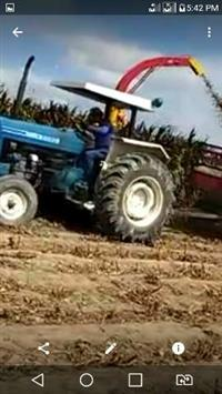 Trator Ford/New Holland 6600 4x4 ano 85