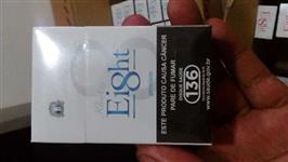 Lote 50 caixa de Cigarro Eitgh Box nacional