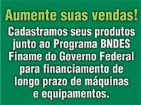Cadastro de produtos no   BNDES/FINAME