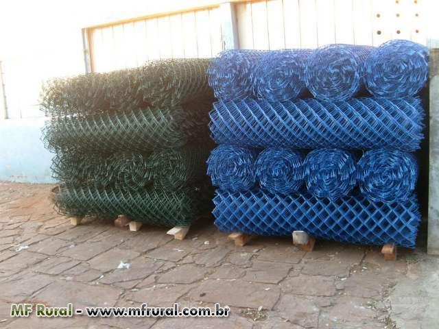 Telas de alambrado Galvanizada 3x3 fio 12