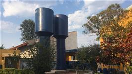 Caixa D´agua Tipo Taça 30.000 L em Fibra de Vidro ECOLOGY