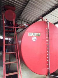 Tanque Combustivel 15.000 LT c/ Bomba e filtro prensa