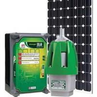 Kit Bomba Solar Anauger P100 Para Poço + 2 Placas (190w)