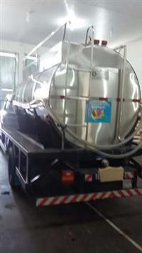 Tanque rodoviario p/leite