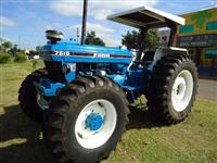 Trator Ford 7610 4x4 ano 91