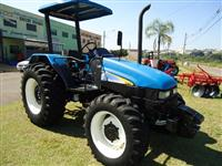Trator New Holland TL 60 E 4x4 ano 10