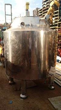 Reator Quimico Inox Encamisado