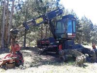 Harvester Valmet 601 6x6 ano 1996 com cabecote 960