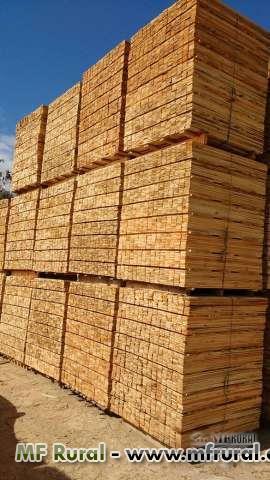 Madeiras serras para fabricação de pallets