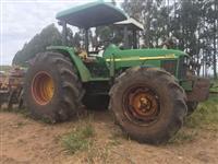Trator John Deere 7505 4x4 ano 08