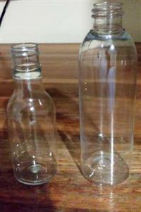 Garrafinha PET 50ml e 100ml (gargalo 20/410) p/ cachaça, molho de pimenta, álcool gel, cosméticos...