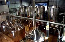 Cervejaria de grande porte com marca reconhecida nacionalmente