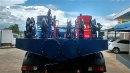 Comboio Gascom 6,5 mtr para 4.000 Litros sobre chassi para caminhão 4x2 Toco