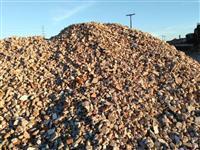 Pedra reciclada para Estradas rurais, pavimentação carreado