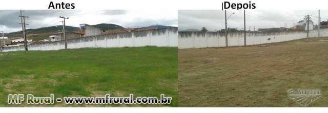 Herbicida Glifosato Fersol 480 NA, (Não Agrícola) Rede e subestação elétrica de alta, rodovia,Cerca.