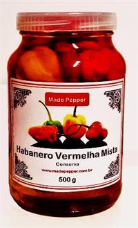 Pimenta Habanero Vermelha Mista 500g Made Pepper