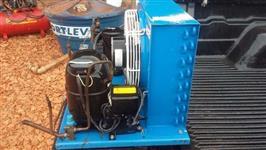 Resfriador de leite, condensadora para tanque 2000 lts