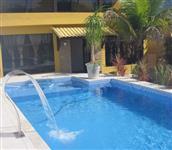 Casa 5 suítes, piscina, churrasqueira, salão de jogos Guarujá permuta por sítio, fazenda ou chácara