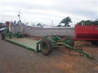 Carreta Agricola Multiuso para Transporte de Plantadeiras e Plataformas