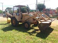 Retro Escavadeira Case 580H , Ano: 1996.
