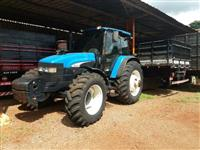 Trator New Holland TM 165 4x4 ano 04