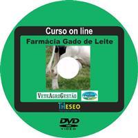 Curso on line Farmácia de Gado de Leite em DVD