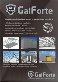 Galpões - Estruturas Metálicas - Armazéns, Garagens agrícolas, Curral, Estocagem, Aviários.