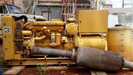 Gerador de Energia com Motor Caterpillar D333 6cc. Diesel