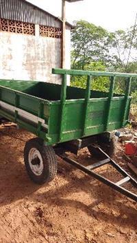carreta de 4 rodas agrícola