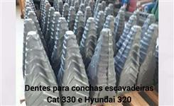 Material de Desgaste para Pás Carregadeiras e Escavadeira