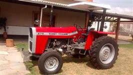 Trator Massey Ferguson 272 4x2 ano 91